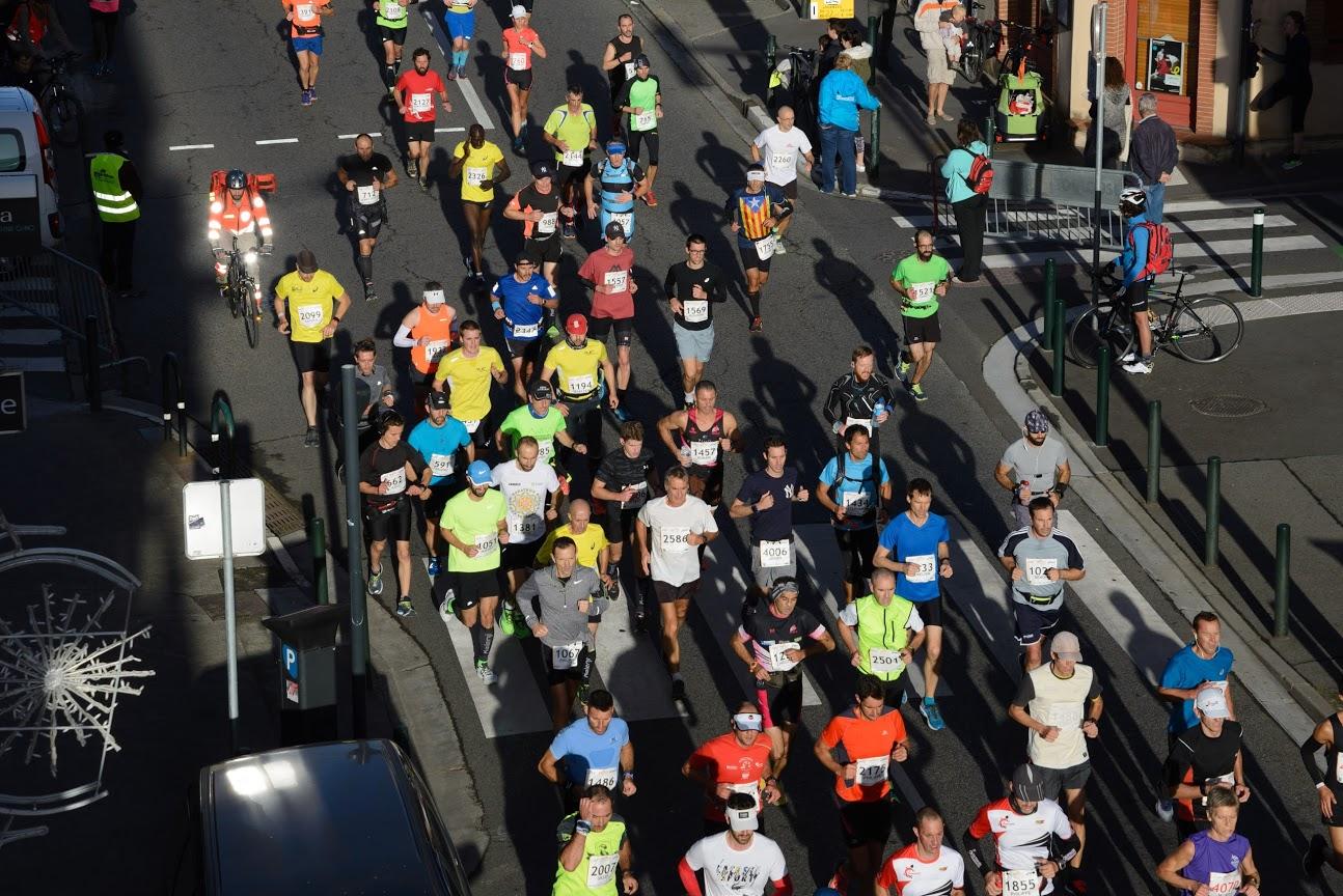 expérience premier marathon - Merci Philou pour la photo